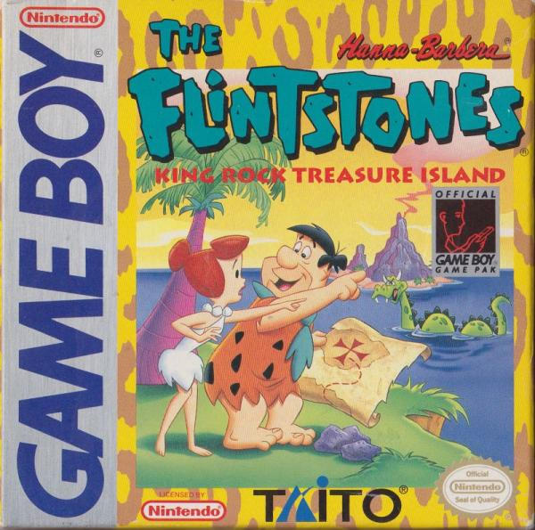 The Flintstones - King Rock Treasure Island - Game Boy