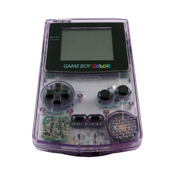 Game Boy Color Konsole (Violett/Transparant) #clear
