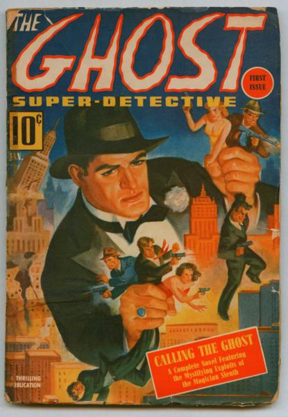 The Ghost Super-Detective