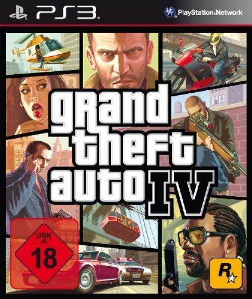 Grand Theft Auto IV - GTA 4 - PS3