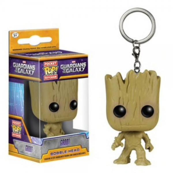 Guardians of the Galaxy Groot - Funko POP! Schlüsselanhänger