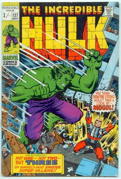 Incredible Hulk #127