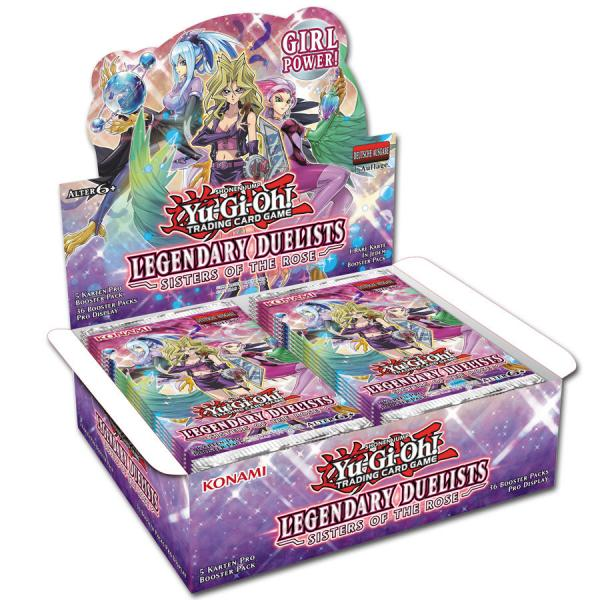 Legendary Duelist Sisters of the Rose Booster Display - Yu-Gi-Oh!