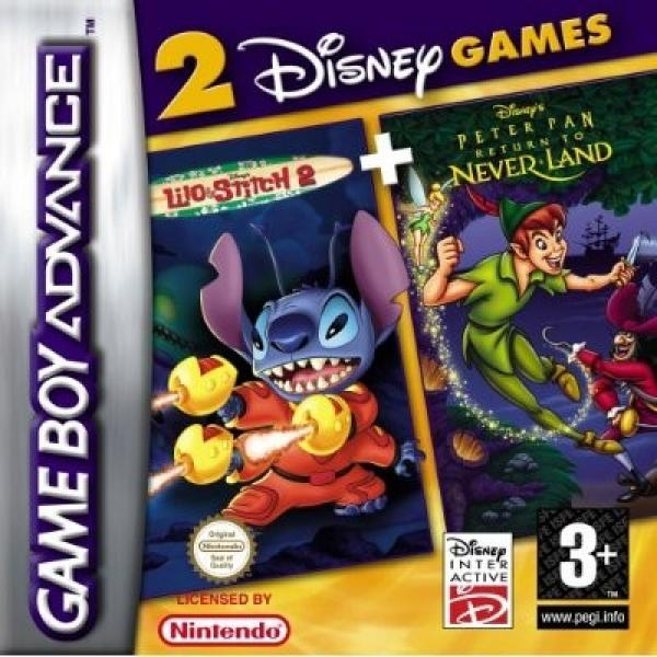 Lilo & Stitch 2 + Peter Pan Neverland 2in1 - GBA