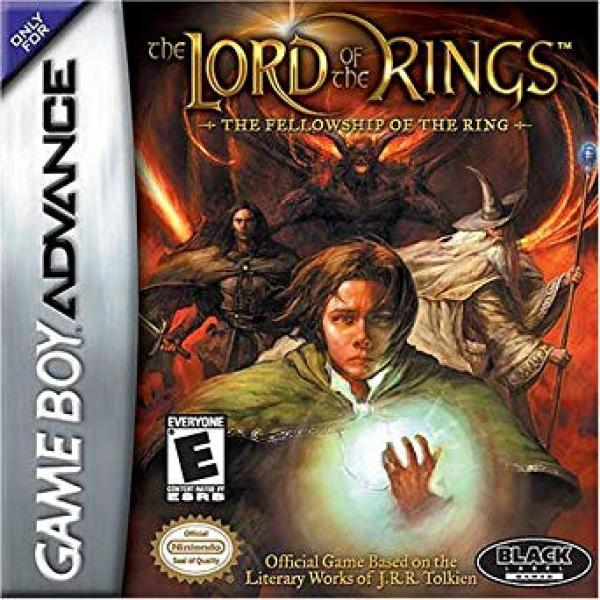 Lord of the Rings Fellowship of the Ring - GBA