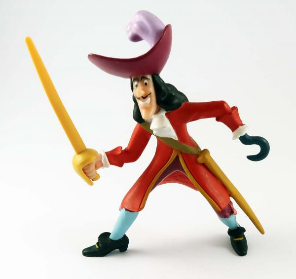 Captain Hook PVC Figur