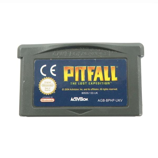 Pitfall The Lost Expedition - GBA