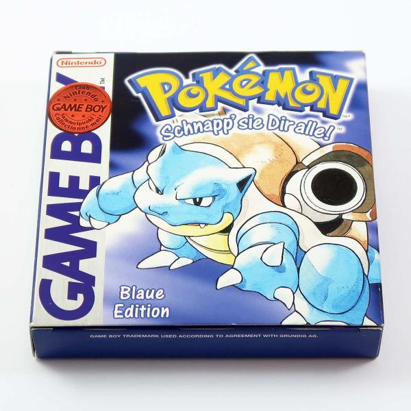 Pokémon Blaue Edition (mit OVP) - Game Boy