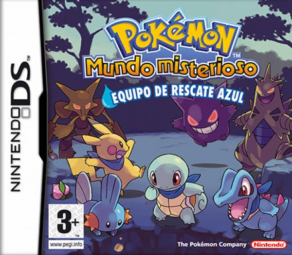 Pokémon Mystery Dungeon Team Blau - Nintendo DS