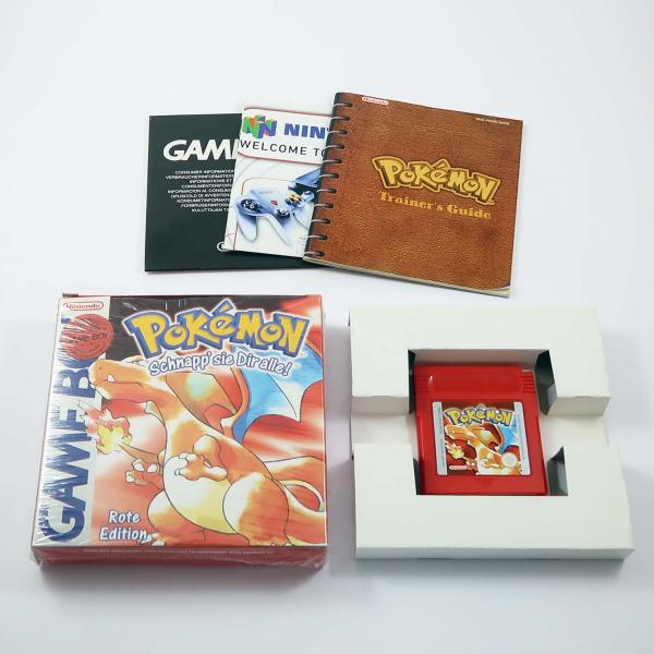 Pokémon Rote Edition (mit OVP) - Game Boy