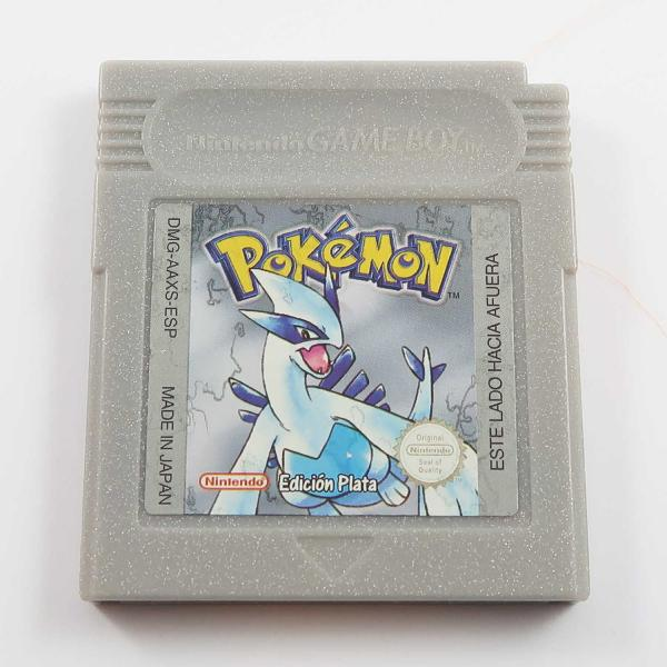 Pokémon Silberne Edition - Game Boy Color