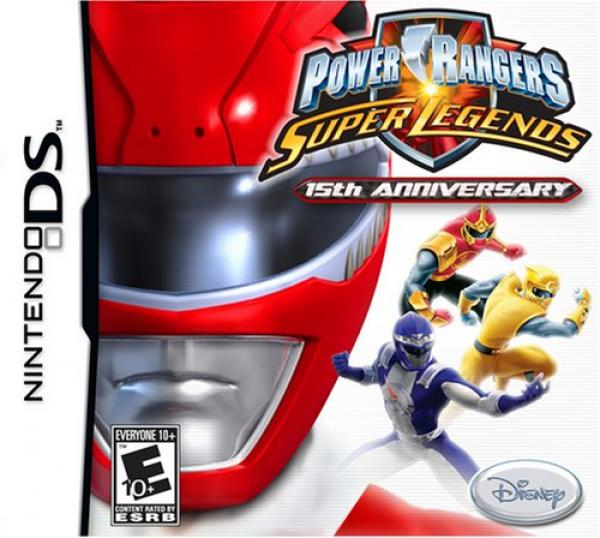 Power Rangers Super Legends - Nintendo DS
