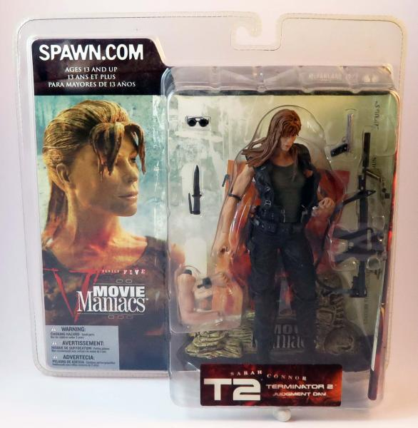 Sarah Connor Terminator Actionfigur