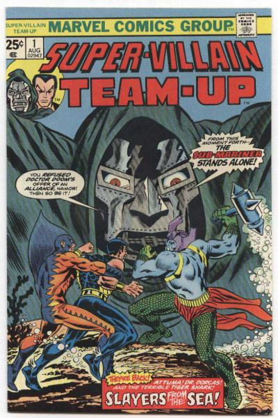 Super-Villain Team-Up #1
