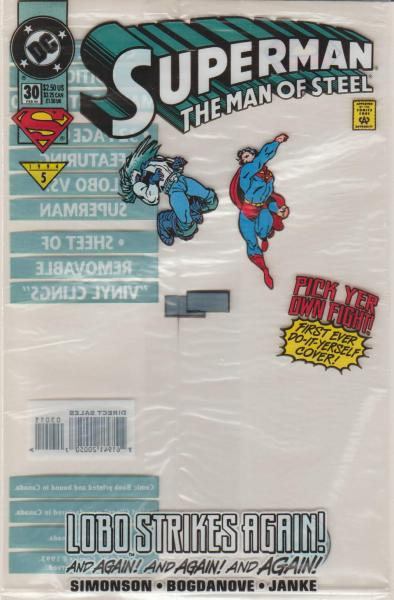 Superman the Man of Steel #30