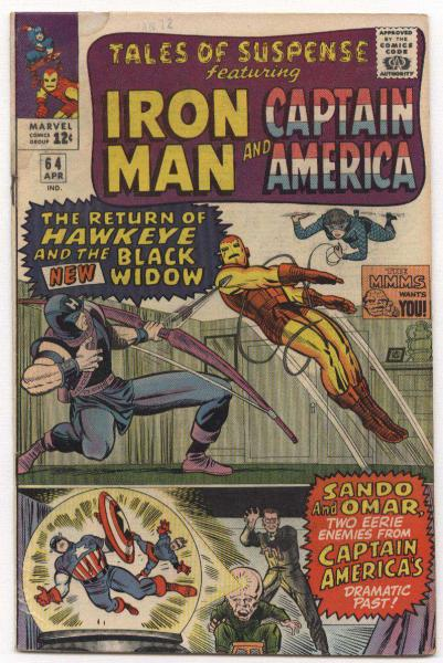 Tales of Suspense #64
