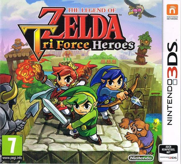 The Legend of Zelda Tri Force Heroes - Nintendo 3DS
