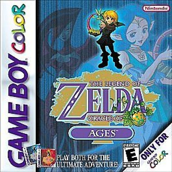 The Legend of Zelda Oracle of Ages - GBC