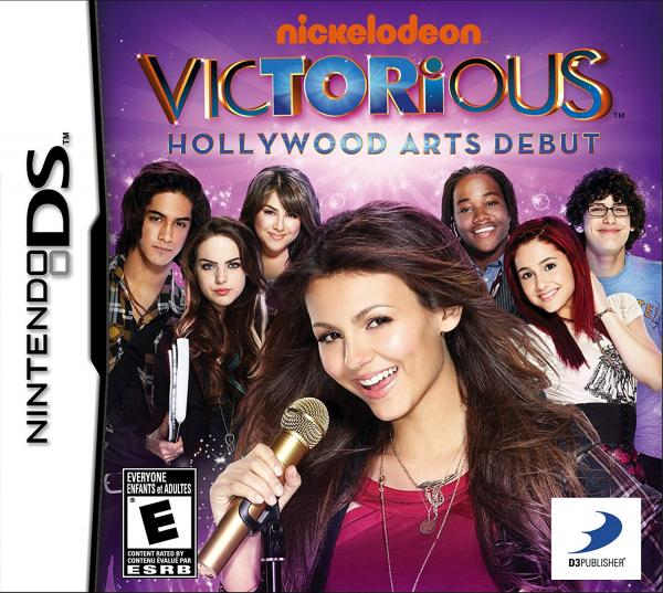 Victorious Hollywood Arts Debut - Nintendo DS