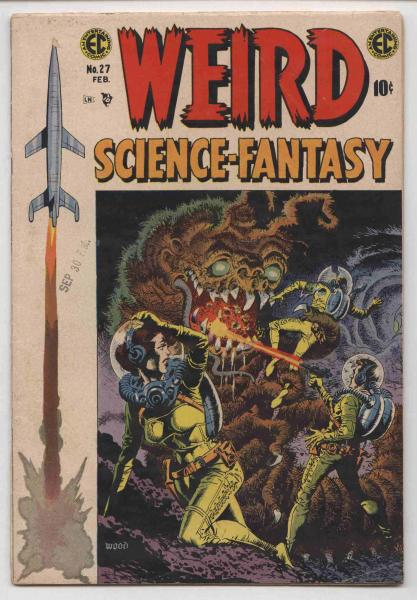 Weird Science-Fantasy #27