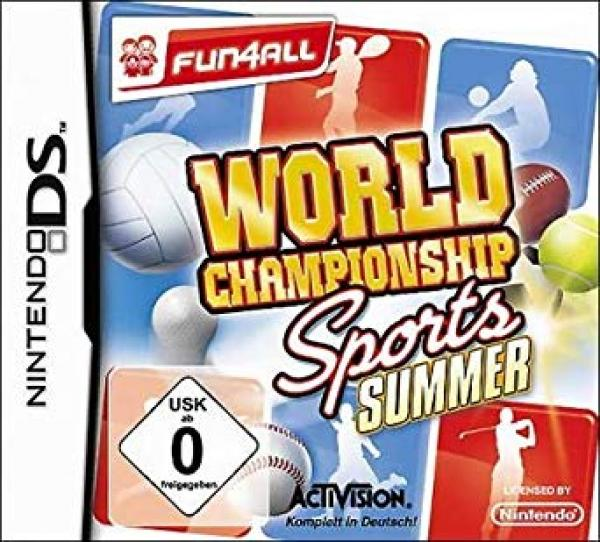 World Championship Sports Summer - Nintendo DS