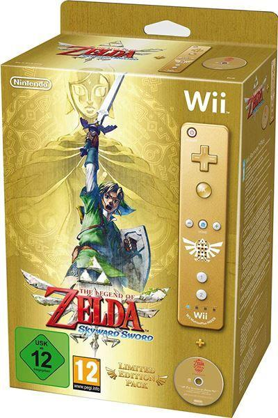 The Legend of Zelda Skyward Sword Limited Edition - Nintendo Wii
