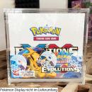 Pokémon Acrylic Booster Box Display (for Modern Displays)
